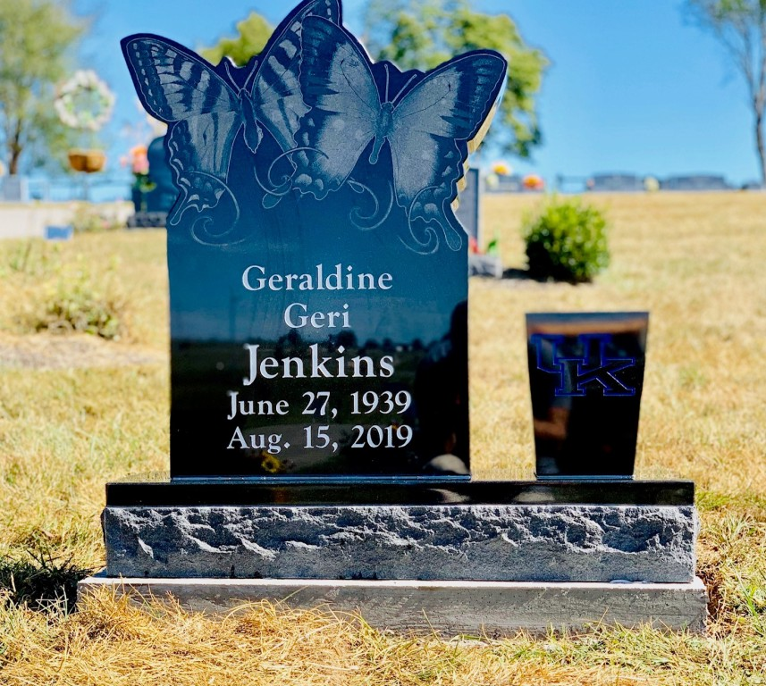 Headstone for Geraldine Jenkins