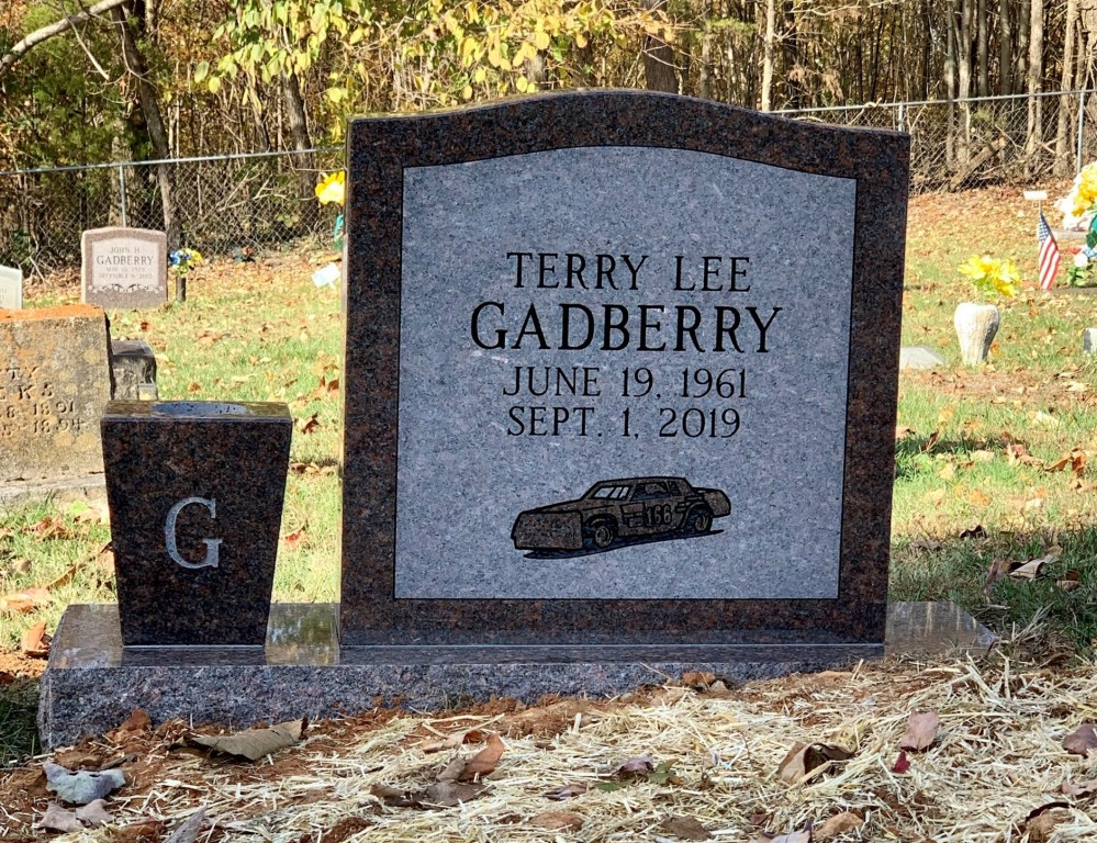 Headstone for Terry Lee Gadberry