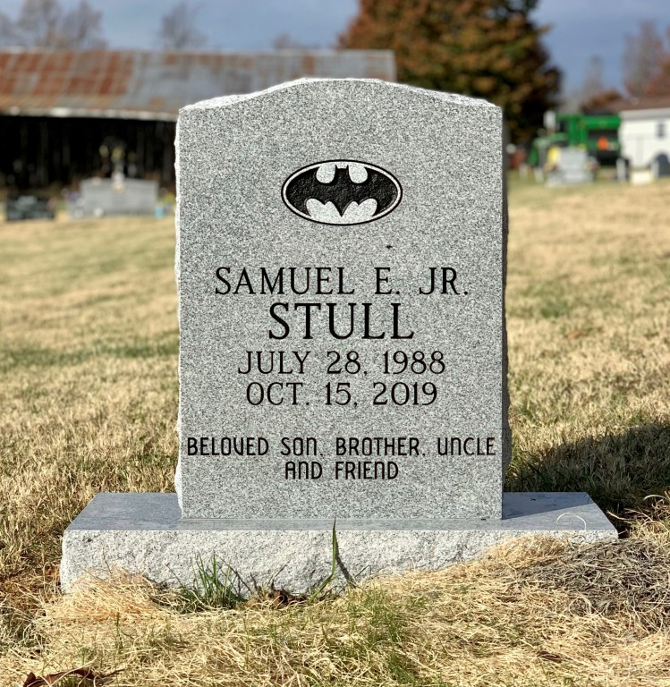 Headstone for Samuel Stull
