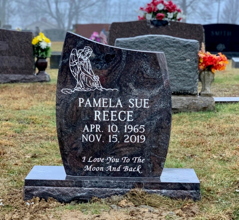 Headstone for Pamela Sue Reece