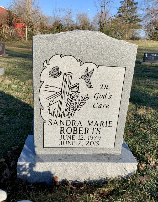 Headstone for Sandra Marie Roberts