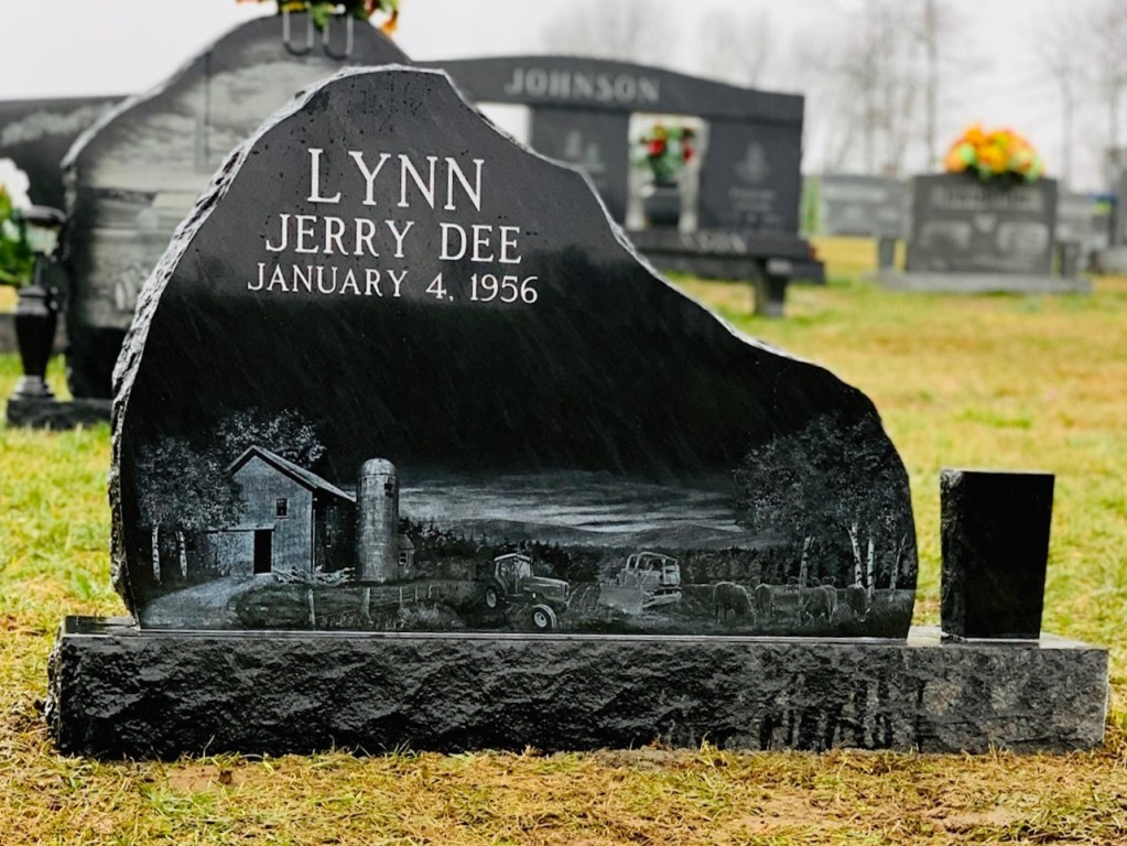 Headstone for Jerry Lynn