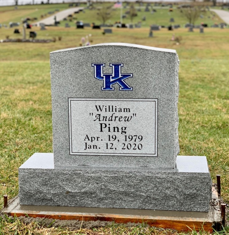 Headstone for William Andrew Ping