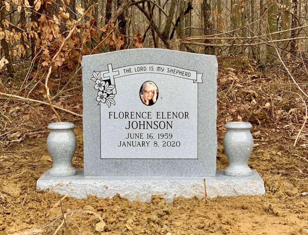 Headstone for Florence Johnson
