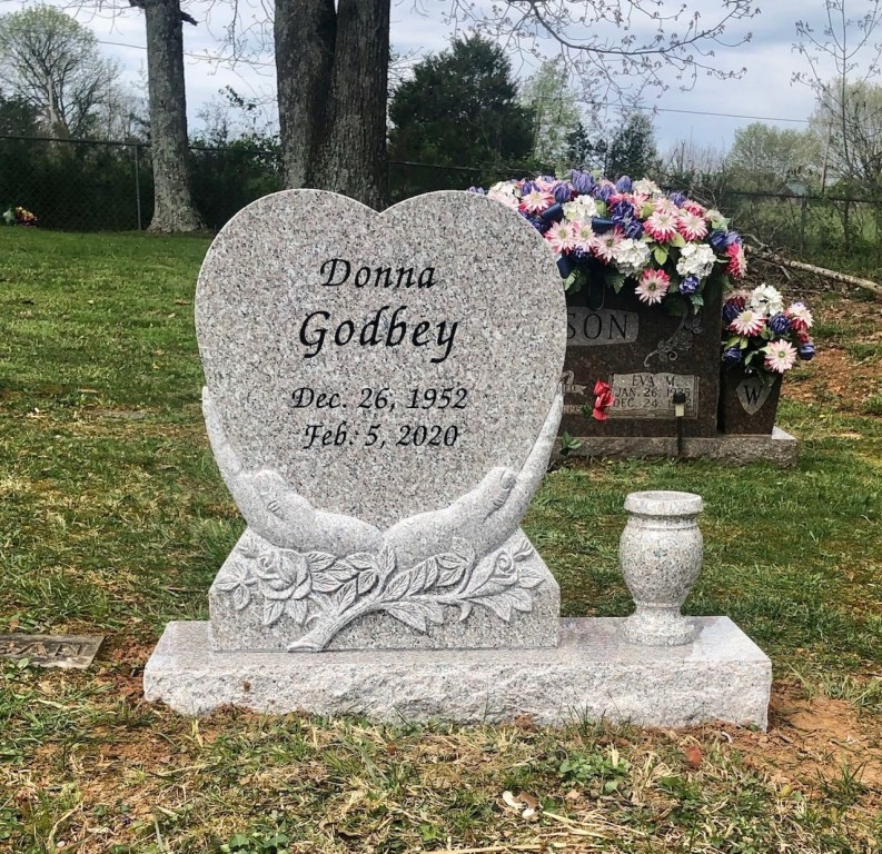 Headstone for Donna Godbey