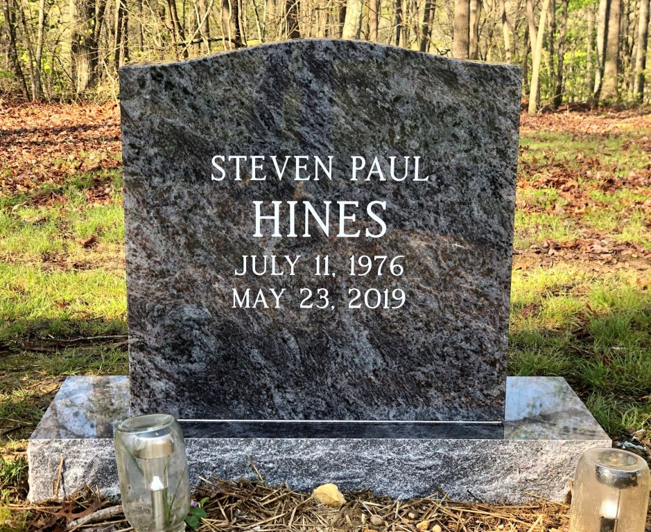 Headstone for Steven Paul Hines