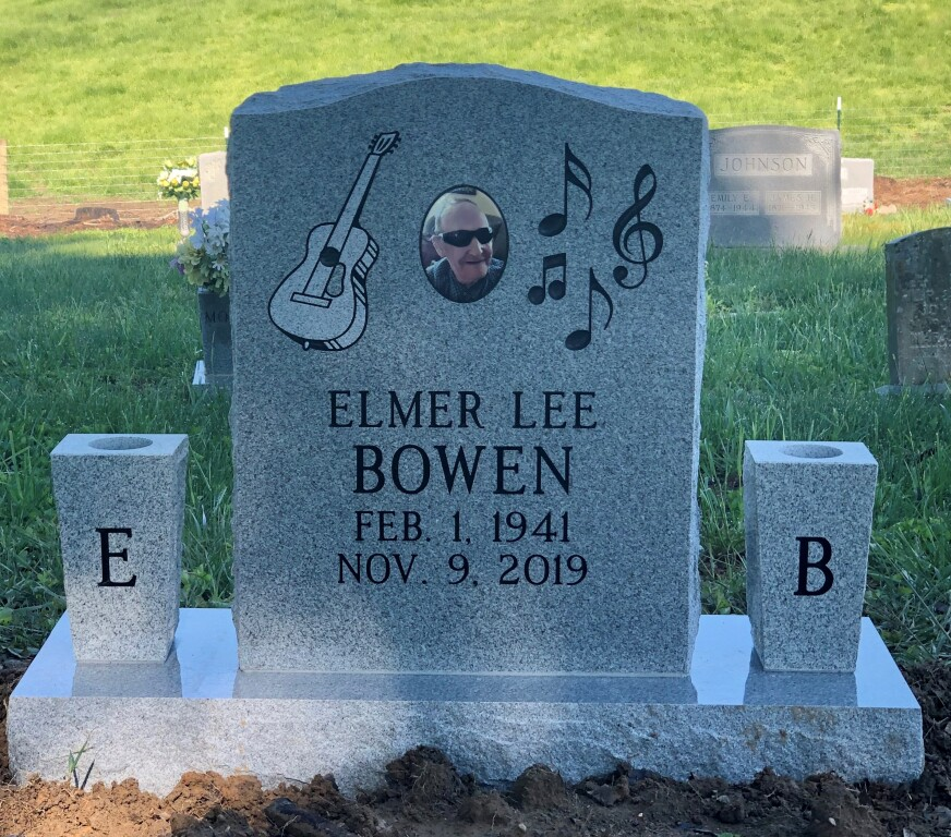 Headstone for Elmer Lee Bowen