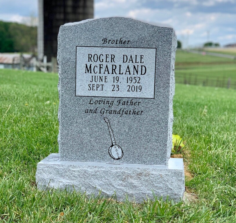 Headstone for Roger Dale McFarland