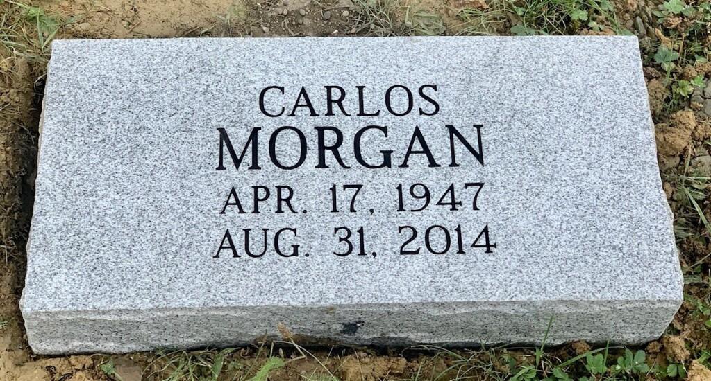 Marker for Carlos Morgan