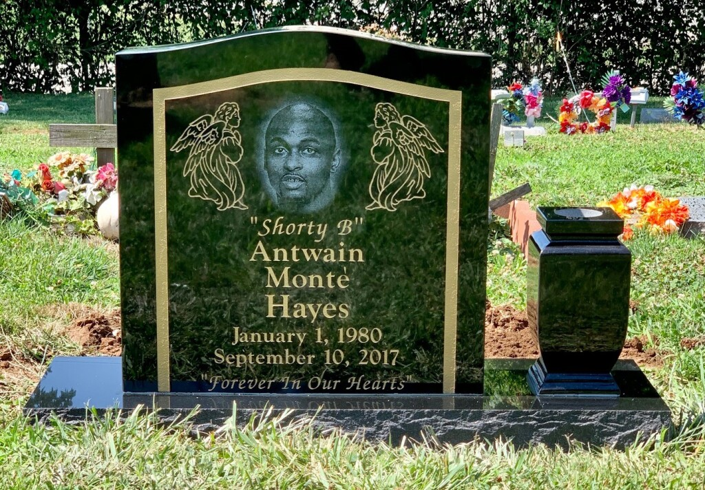 "Headstone for Antwain Monte ""Shorty"" Hayes"