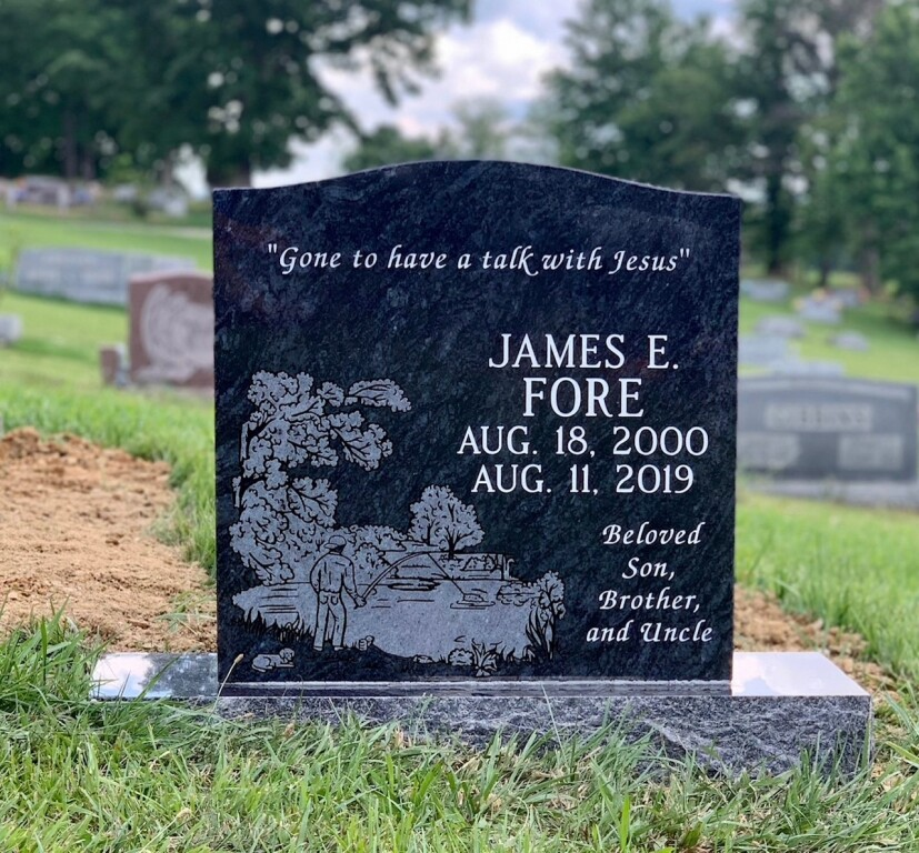 Headstone for James E. Fore
