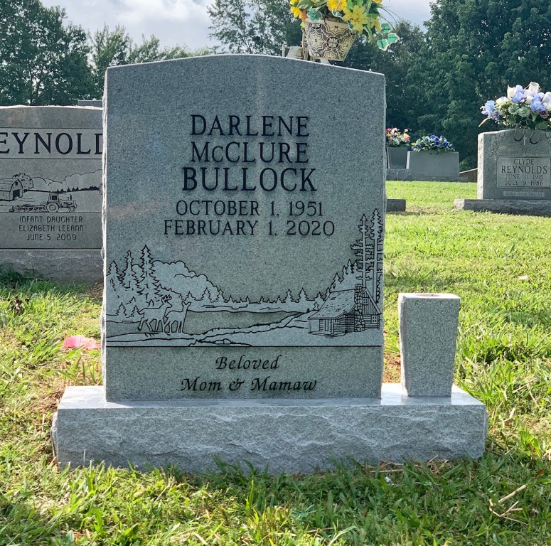 Headstone for Darlene Bullock