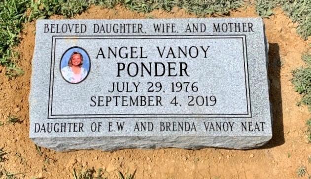 Bevel marker for Angel Ponder