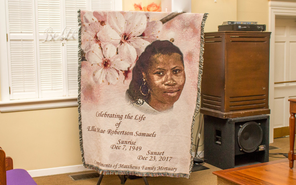 Celebrating the life of the Late, Mrs. Ella Mae Robertson Samuels.