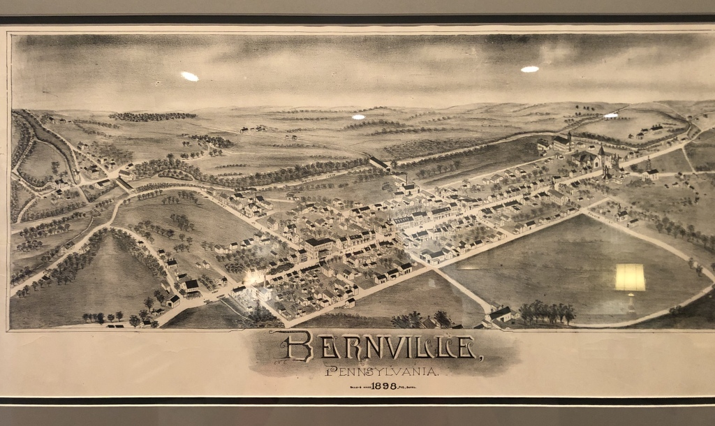 Map of Bernville 1898
