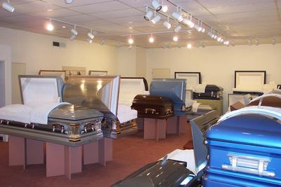 Casket Selection Room