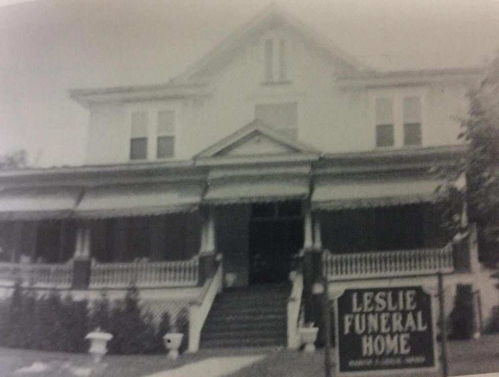 Former Leslie Funeral Home