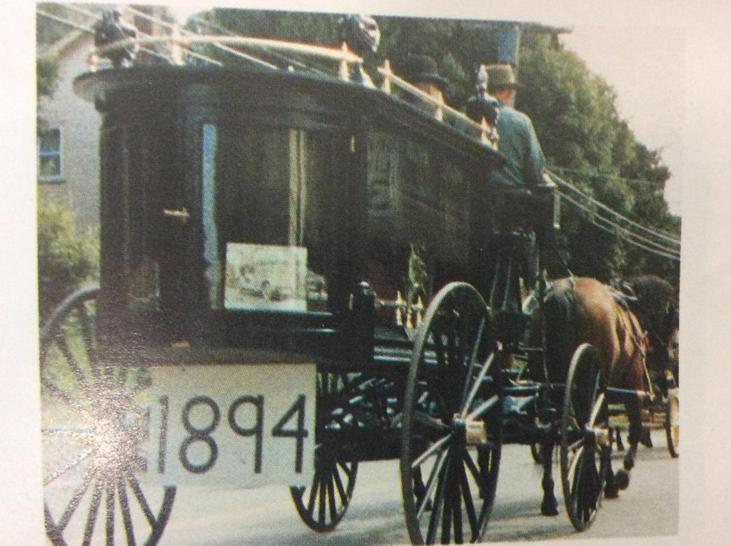 1894 Horse Drawn Hearse Owned by John and Elaine Smith