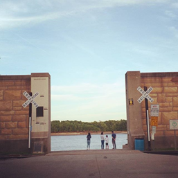 River Front Gates on Water Street