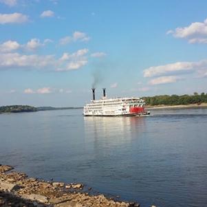 Riverboat on Mississippi