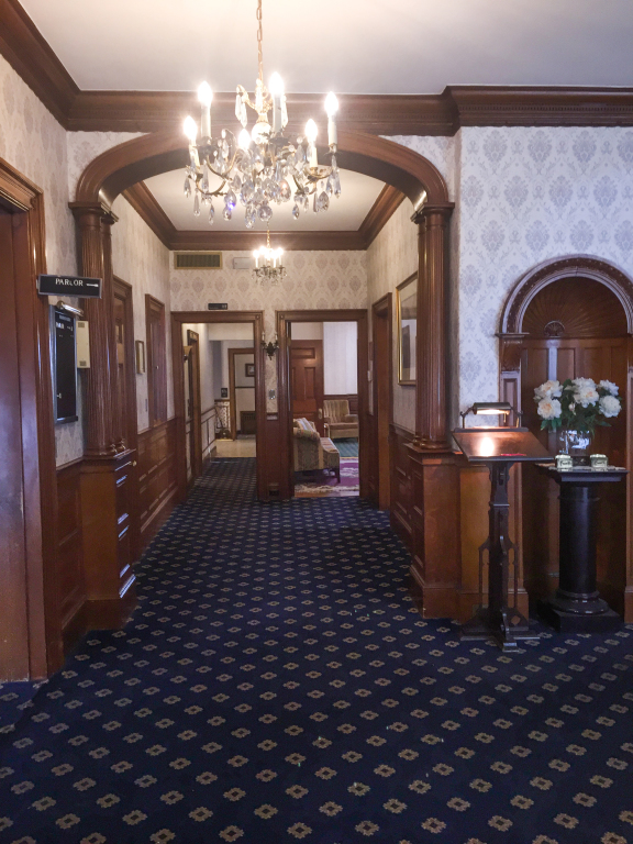 FIRST FLOOR VIEW FROM MAIN ENTRANCE