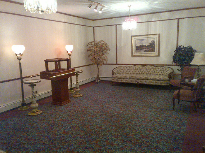 Urn Visitation Room