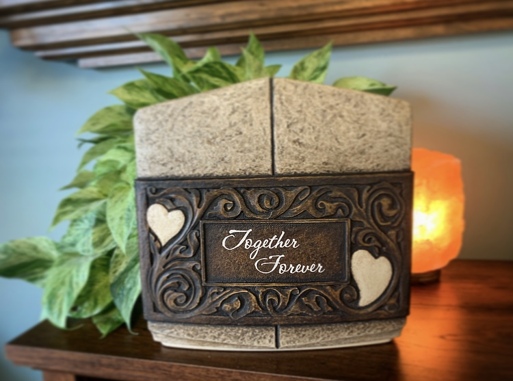 "Companion ""Together Forever"" Urn - $895.00"