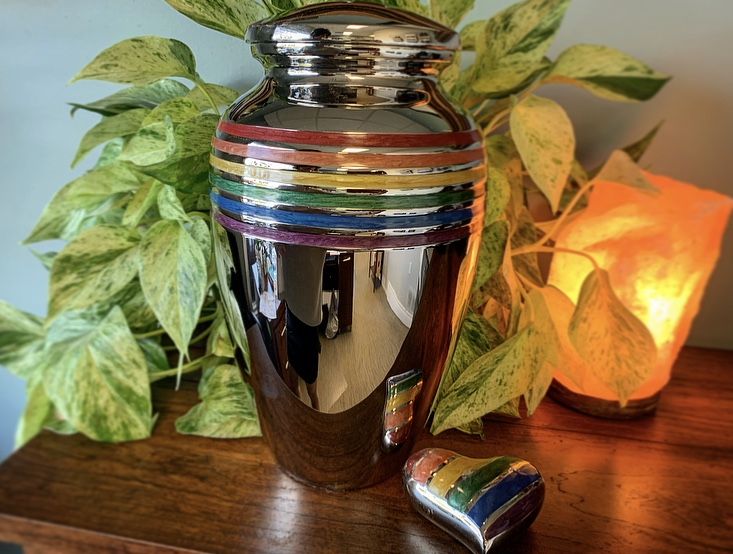 Pride / Rainbow Urn & Keepsake - $80 - $289.00