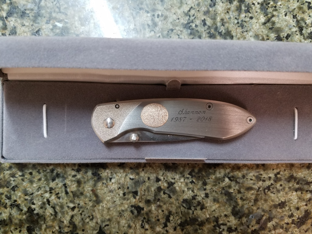 Buck Knife Closed