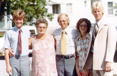 David Munden III, Ms. Annie, Klein, Kay and Morris in 1979