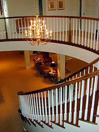 Upstairs Lobby Looking Down