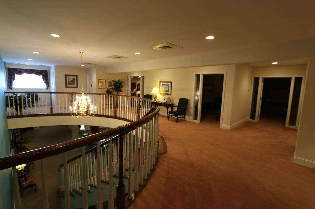 Upstairs Lobby