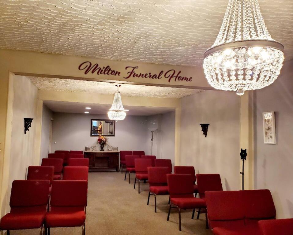 Milton Funeral Home Chapel...