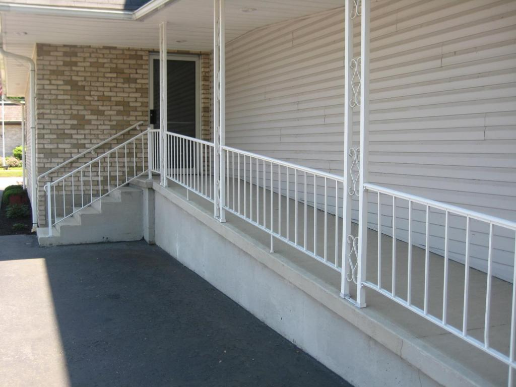 Fully handicapped accessible with ADA compliant restrooms.