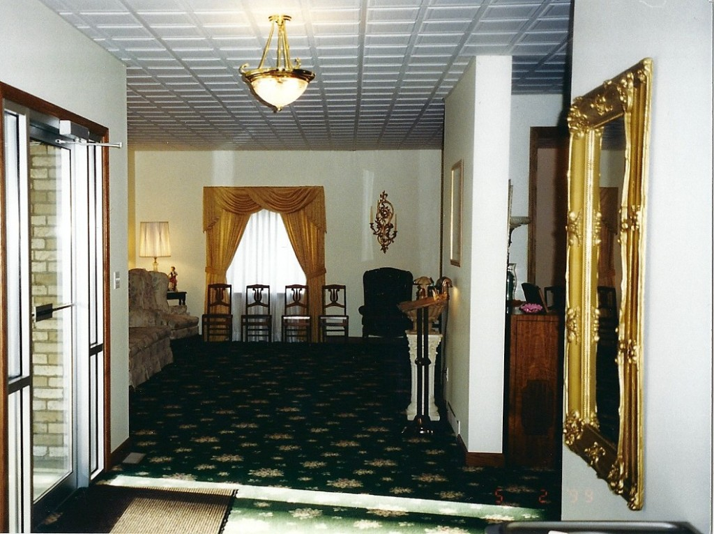 Entrance Foyer.