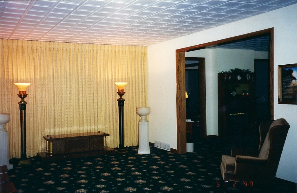 Main family receiving room.