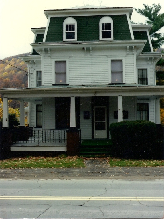 Funeral Home in 1986 when purchased by the Wimers