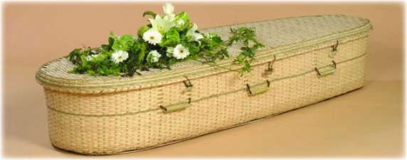 Bamboo Casket