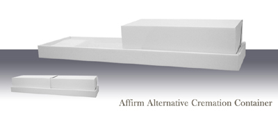 Affirm Alternative Cremation Container