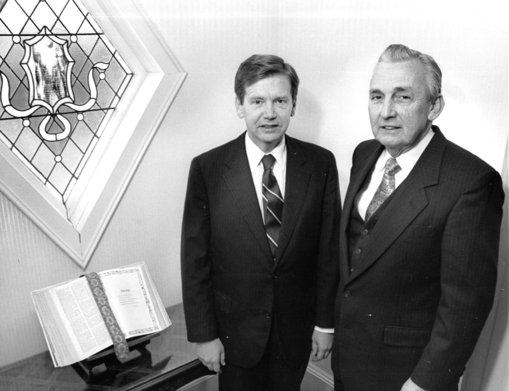 Mr. Robert Peterson & Thomas O'Donnell - 1987