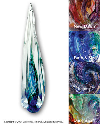 Eternal Flame Art Glass