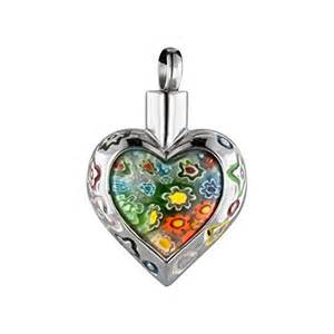Color Heart Necklace