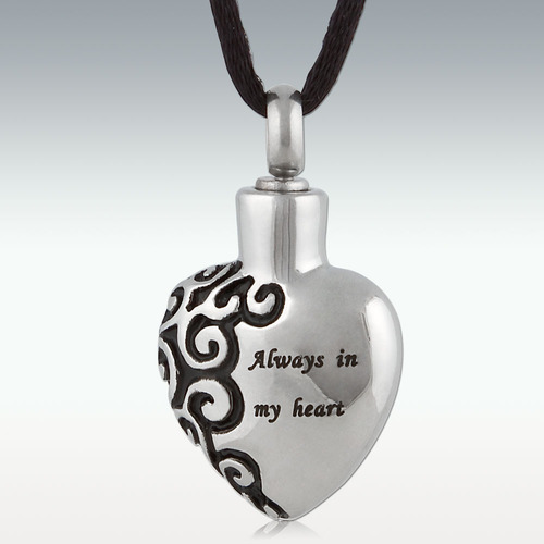 Always In My Heart Stainless Steel Necklace