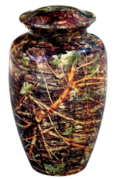 Camo Urn Full Size-Keepsake also available