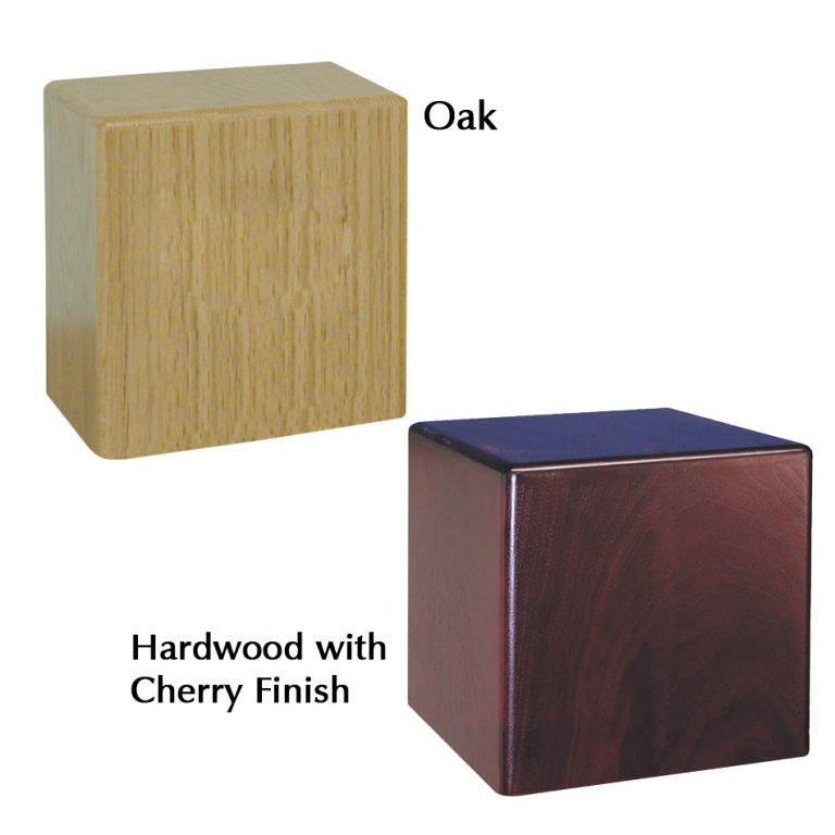 Companion Wood Urn