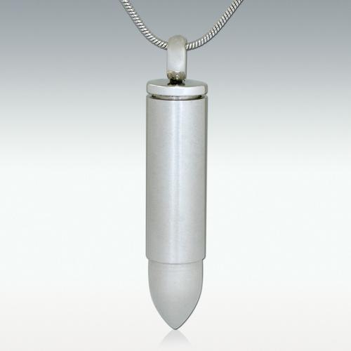 Chrome Bullet Necklace
