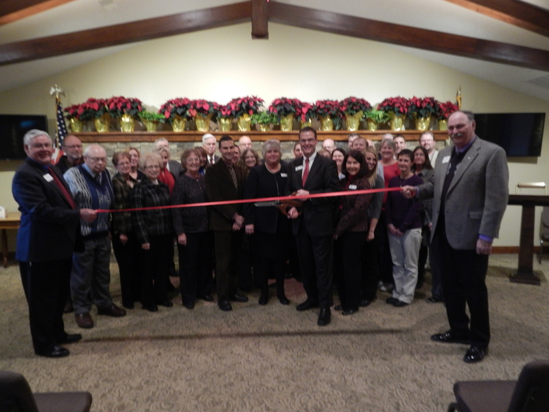 Ribbon Cutting during our open house weekend November 2014