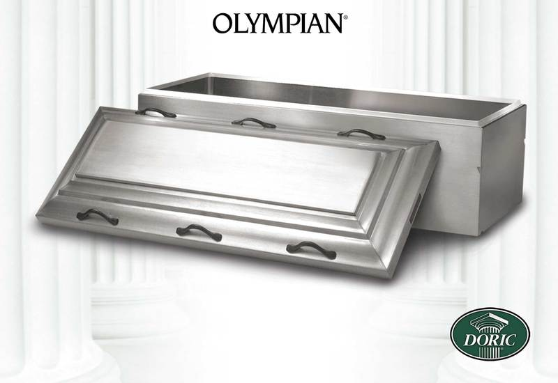 Doric Olympian Stainless Steel