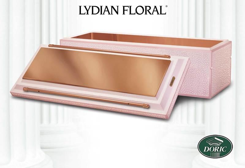 Doric Lydian Copper Floral
