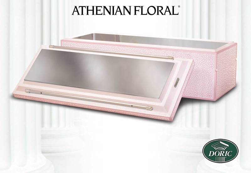 Doric Athenian Stainless Steel Floral